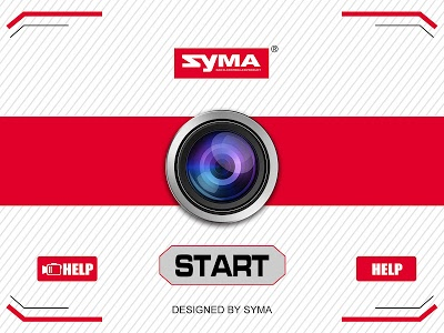 screenshot of SYMA GO version 8.2.3-build20170627