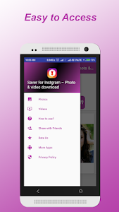 screenshot of Saver for Instgram – Photo & video download version 1.5