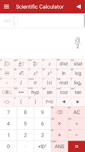 screenshot of Scientific Calculator version 8.15.0
