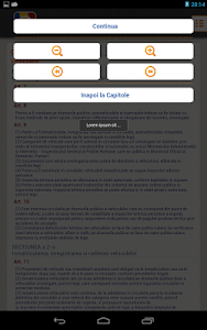 screenshot of Scoala Auto - Chestionare Auto version 2.7.8