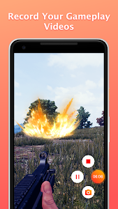 screenshot of Screen Recorder & Music, Video Editor, Record Free version 1.6.2
