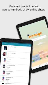 screenshot of Price Comparison App - Scrooge version Varies with device