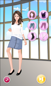 screenshot of Selena Gomez Celebrity Dressup version 1.14