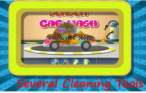 screenshot of Semsem Car Wash - Super Fun Car Wash Game version 1.3