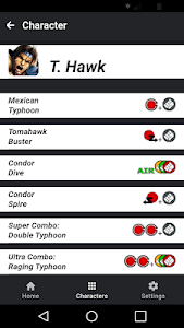 screenshot of Moves Guide for SF4 version 0.0.4