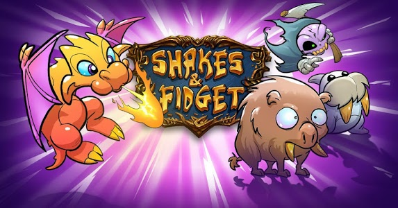 screenshot of Shakes and Fidget version 2.68.71