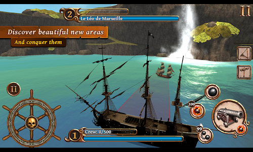 screenshot of Ships of Battle Age of Pirates version 1.36