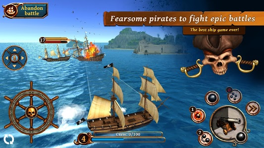 screenshot of Ships of Battle: Age of Pirates version 2.3.3