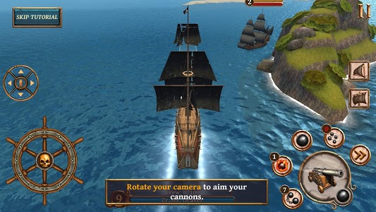 screenshot of Ships of Battle - Age of Pirates - Warship Battle version Varies with device