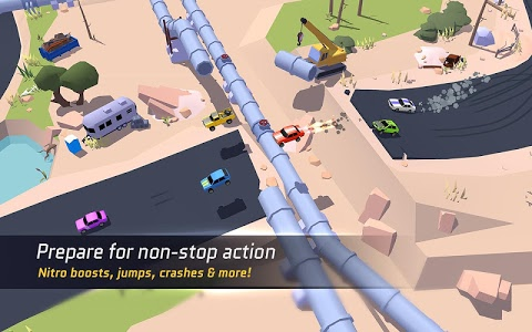 screenshot of SkidStorm—Multiplayer version Varies with device