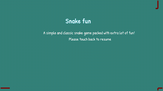 screenshot of Snake Fun- A Clasic game version 1.0