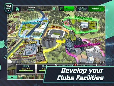 screenshot of Soccer Manager 2020 - Football Management Game version 1.1.7