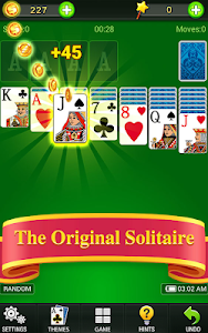 screenshot of Solitaire 2019 version 1.3.8