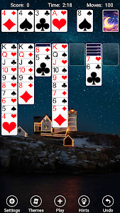 screenshot of Solitaire version Varies with device
