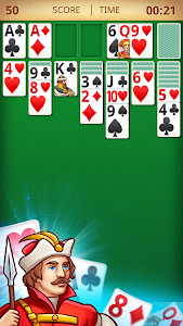 screenshot of Solitaire Classic version 4.3.3