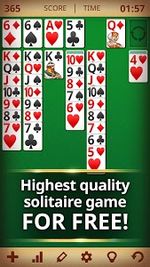 screenshot of Solitaire Classic version 4.3.1