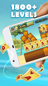 screenshot of Solitaire TriPeaks: Play Free Solitaire Card Games version 6.3.0.63022