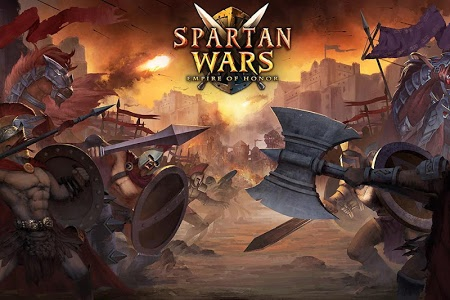 screenshot of Spartan Wars: Blood and Fire version 1.7.7