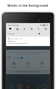 screenshot of Speaker Boost: Volume Booster & Sound Amplifier 3D version 3.0.15