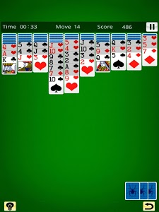 screenshot of Spider Solitaire King version 20.04.02