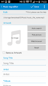screenshot of Star Music Tag Editor version 2.0.6
