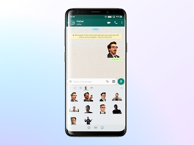 screenshot of Stickers for WhatsApp version 18.1
