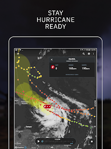 screenshot of Storm: Weather Radar, Live Maps + Tornado Tracker version Varies with device