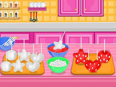 screenshot of Strawberry Shaped Pops - Cooking Games version 1.0