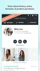 screenshot of StyleSeat version 3.88
