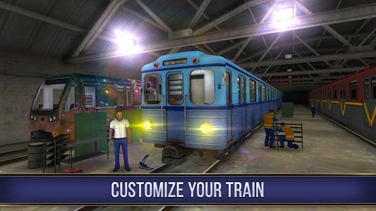 screenshot of Subway Simulator 3D version 1.9.1