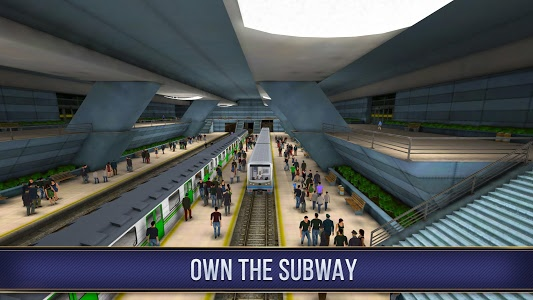 screenshot of Subway Simulator 3D version 1.1.0