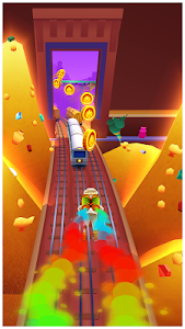 screenshot of Subway Surfers version 2.1