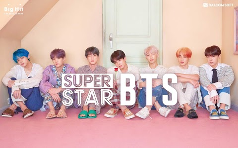 screenshot of SuperStar BTS version 1.8.3