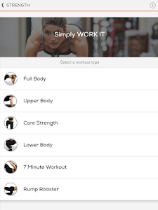 screenshot of Sworkit: Workouts & Fitness Plans version 8.2.0