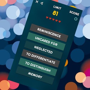 screenshot of Synonyms - Game version 12