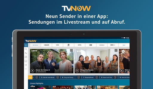 screenshot of TV NOW PLUS version Varies with device