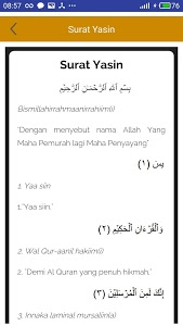 screenshot of Yasin Tahlil dan Doa Arwah version 1.9.3