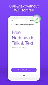 screenshot of TextNow: Free Texting & Calling App version 20.10.0.1