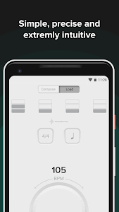 screenshot of The Metronome by Soundbrenner version 1.17.10