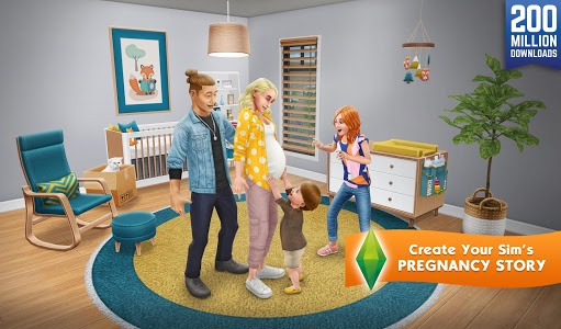 screenshot of The Sims FreePlay version 5.52.0