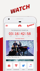 screenshot of The Voice Official App on NBC version 3.7.0