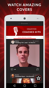 screenshot of The Voice: On Stage version 4.1.6-02/23-afb294e
