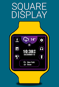 screenshot of Thermo Watch Face by HuskyDEV version 1.04