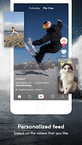 screenshot of TikTok version 12.2.4