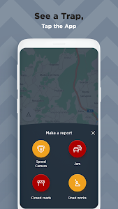 screenshot of TomTom AmiGO - GPS, Speed Camera & Traffic Alerts version Varies with device