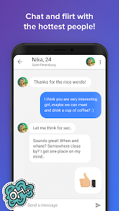screenshot of Topface - Dating Meeting Chat! version 3.4.52