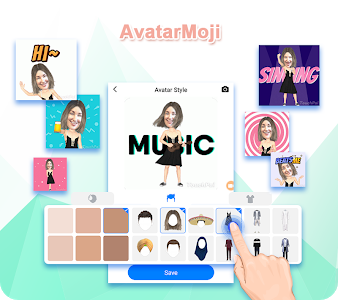 screenshot of TouchPal Keyboard-Cute Emoji,theme, sticker, GIFs version 7.0.3.1_20190418180425