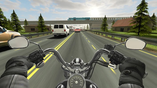 screenshot of Traffic Rider version Varies with device