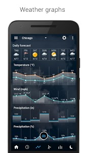 screenshot of Transparent clock & weather version 2.10.06