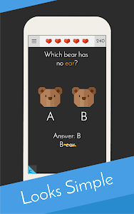 screenshot of Tricky Test 2™: Genius Brain? version 6.3